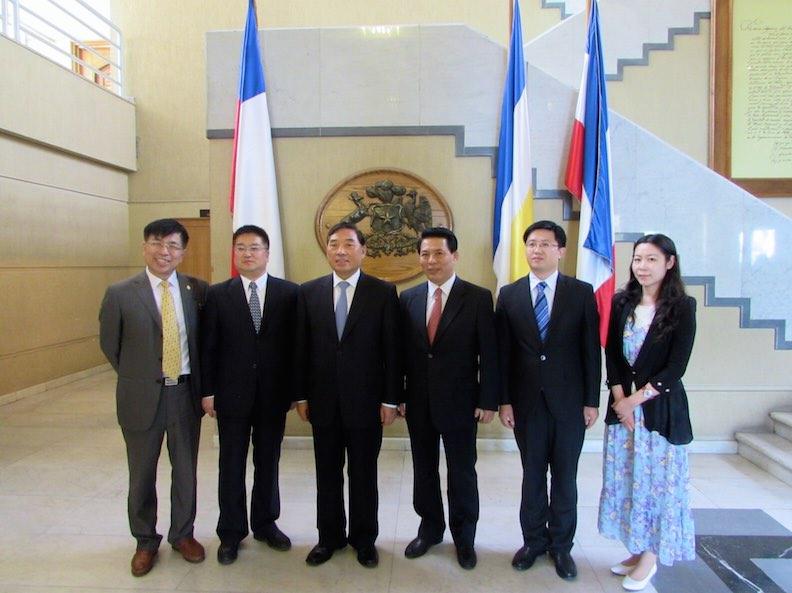Delegación Tianjin
